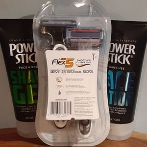 Axe Accessories - NWT- Mens Holiday Shave Bundle